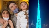 Umumkan Jenis Kelamin Bayi di Gedung Tertinggi Dunia, YouTuber Dikritik