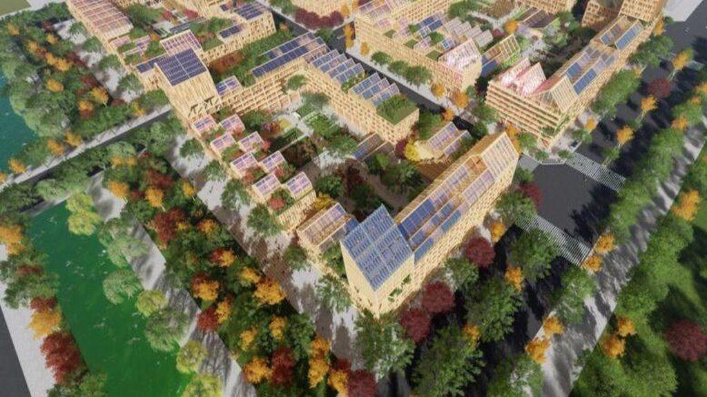 Begini Gambaran Kota Anti-Corona yang Mau Dibangun China
