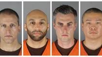 PertamaKali, 4 Polisi di Kasus George Floyd Dihadirkan Bersama di Pengadilan
