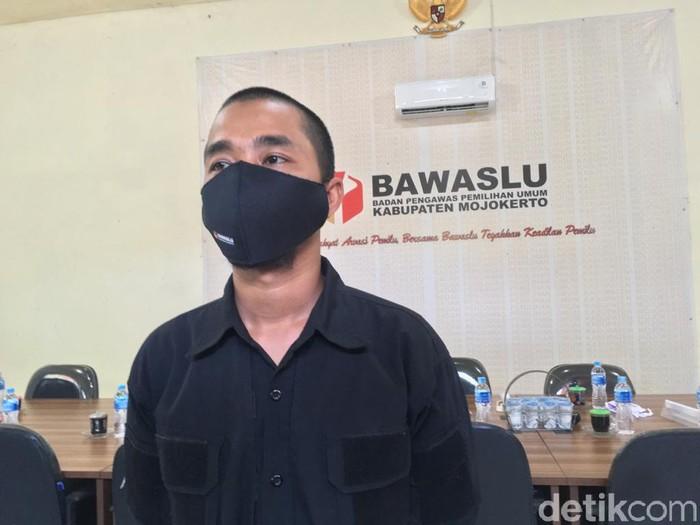 Ketua Bawaslu Kabupaten Mojokerto Aris Fahrudin Asyat