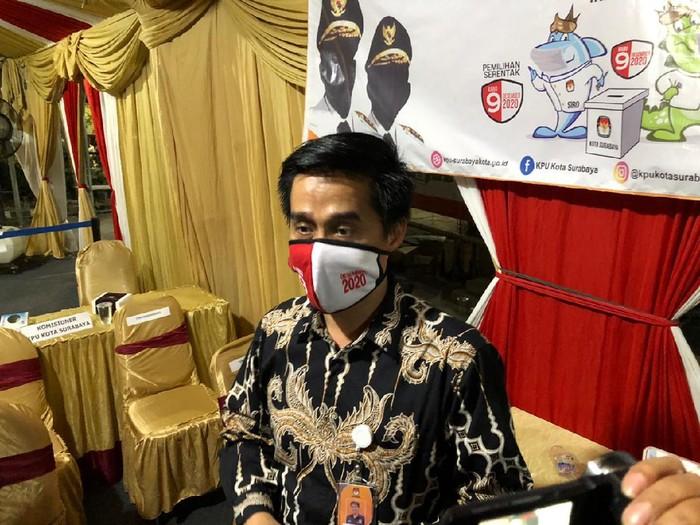 Ketua KPU Surabaya Nur Syamsi