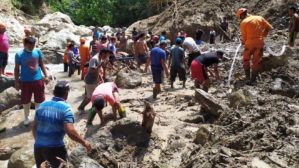 1 Korban Longsor-Banjir Gorontalo Masih Hilang hingga Hari Ke-5 Pencarian