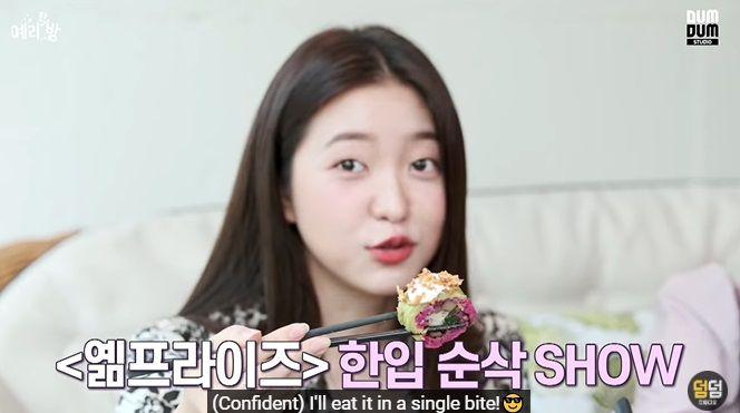 Yeri Red Velvet Diet