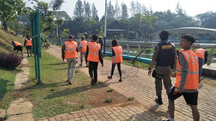 20 warga tak bermasker ditindak Satpol PP Tangerang Selatan (Foto: dok Satpol PP Tangsel)