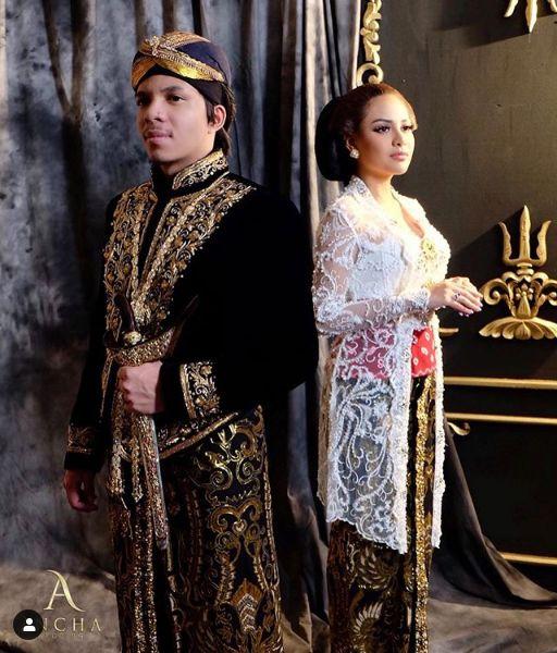 Atta Halilintar dan Aurel Hermansyah jadi pengantin Jawa