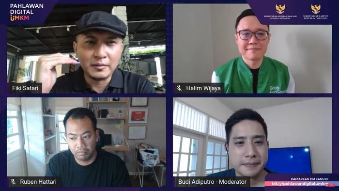 Diskusi UMKM Go Digitalisasi (dok istimewa)