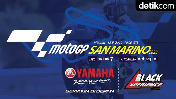 Infografis MotoGP San Marino 2020