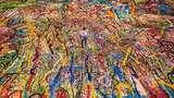 Keren! Lukisan Kanvas Terbesar di Dunia Ini Dibikin untuk Amal