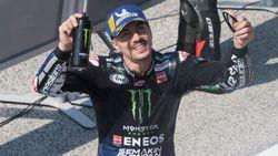 MotoGP Emilia Romagna: Vinales Juara, Rossi Gagal Finis