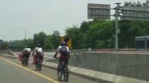 Polri Tunggu Laporan untuk Tindak Pesepeda Masuk Tol, Jasa Marga Pikir-pikir
