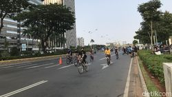 H-1 PSBB Jakarta, Warga Tetap Antusias Olahraga di Kawasan Sudirman