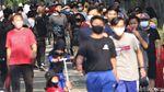 Warga Padati BKT Jelang Jakarta PSBB Total Lagi