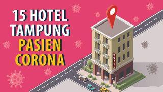 15 Hotel Disiapkan untuk Isolasi Pasien COVID-19