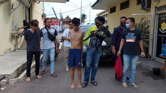 2 terduga begal di Palembang ditangkap (Raja Adil-detikcom)