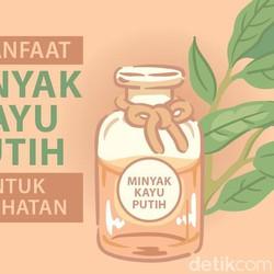 8 Manfaat Minyak Kayu Putih