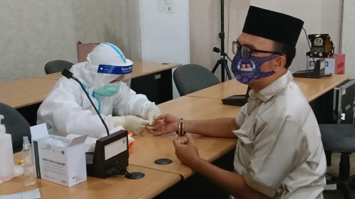 Anggota DPRD Cilegon dirapid test