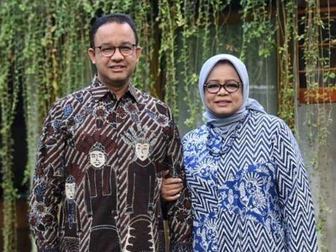 Anies Baswedan dan istri, Fery Farhati
