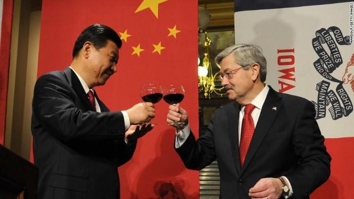 Duta Besar Amerika Serikat (AS) untuk China, Terry Branstad (CNN Photo)