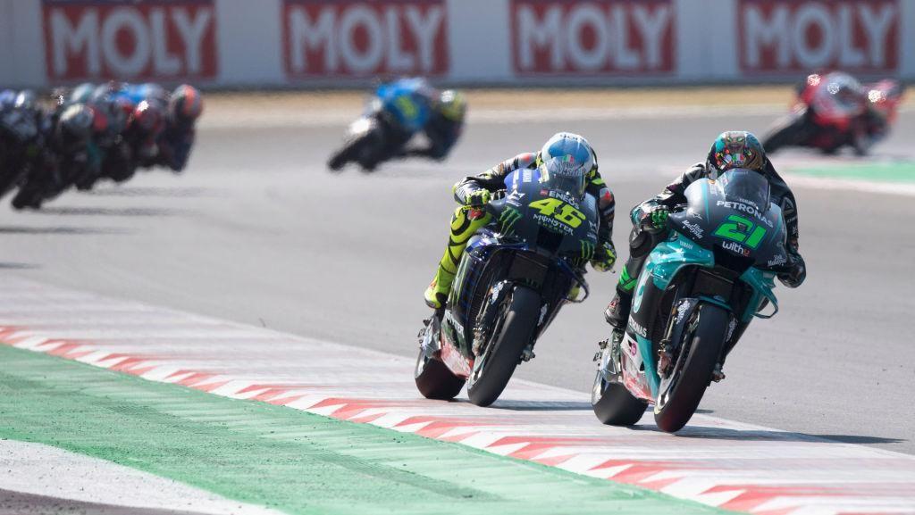 Video: Morbidelli Start Terdepan di MotoGP Catalunya, Rossi Ketiga