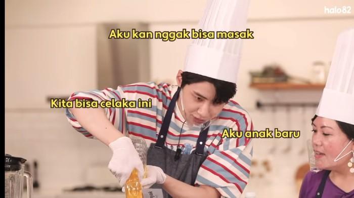 jin hyuk masak sambal goreng ati