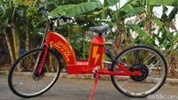 Pesan Sepeda Listrik 10 Hari Jadi, Cuma Rp 7,5 Juta