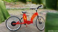 Mau Gowes Jauh Terbentur Umur, Sepeda Listrik Home Made pun Meluncur