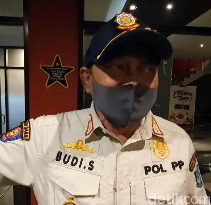 Kasatpol PP Jawa Timur Budi Santosa