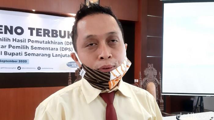Ketua KPU Kabupaten Semarang, Maskup Asyadi.