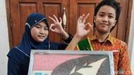 Kreatif, Pelajar Surabaya Sulap Minyak Jelantah Jadi Sabun Cuci Tangan