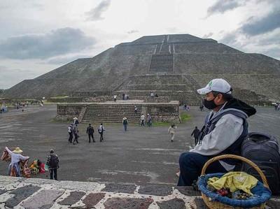 Buldoser Proyek Ancam Hancurkan Situs Teotihuacan Meksiko