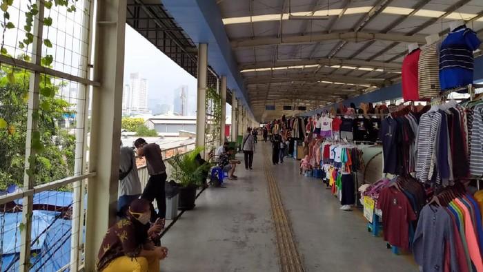 Suasana di Pasar Tanag Abang