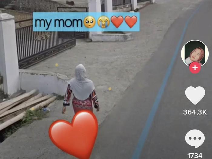 TikTok Ledian yang melihat sang ibu di Google Maps