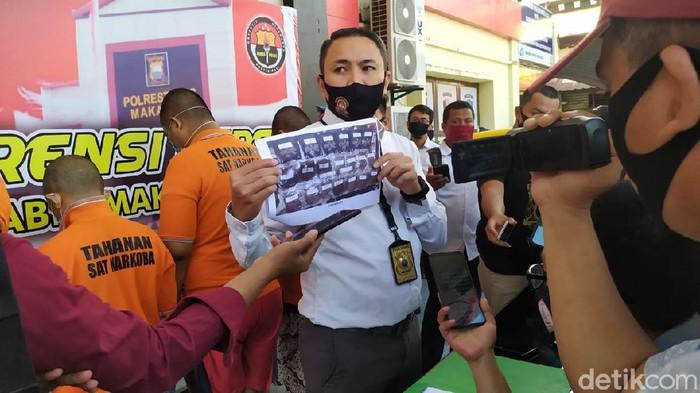 Wakasat Narkoba Polrestabes Makassar Kompol Indra Waspada Yudha