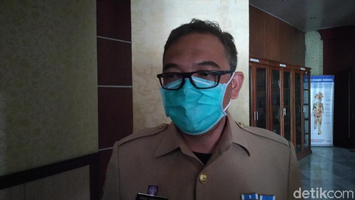 Wakil Bupati Bogor Iwan Setiawan (Sachril Agustin Berutu/detikcom).