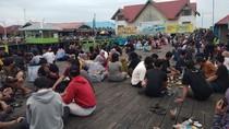 Wisata Bontang Kuala Kaltim Padat, Pengunjung Abai Protokol Kesehatan
