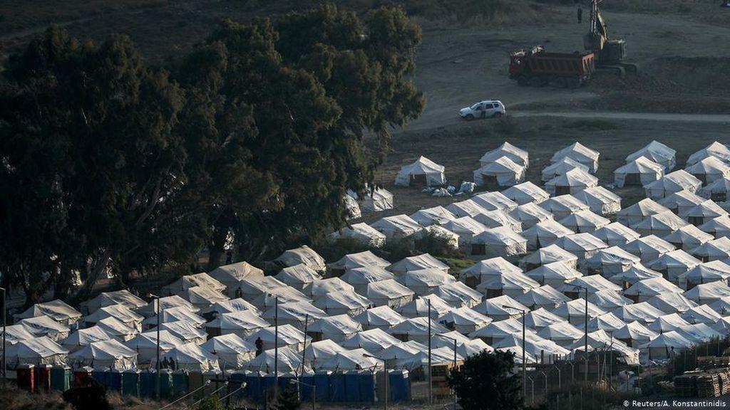 Yunani Bangun Tenda Darurat dekat Moria, Banyak Pengungsi Masih Khawatir
