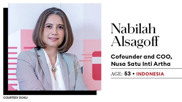 Co-founder & COO Nusa Satu Inti Artha Nabilah Alsagoff