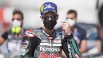 Hasil Free Practice III MotoGP Catalunya: Quartararo Terdepan, Dovisiozo Jeblok