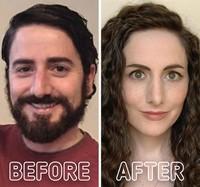 fotoinet transformasi before after gender