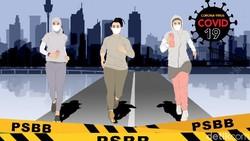 Grafik Naik Turun Kasus Corona Sepekan PSBB Ketat di Jakarta