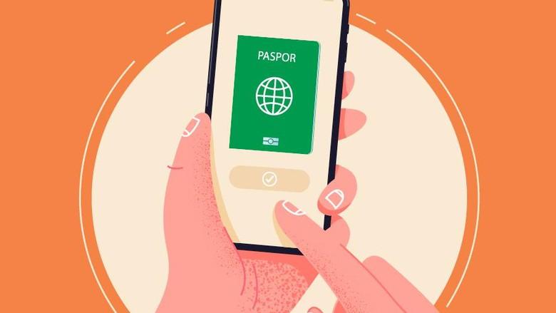 infografis bikin paspor online