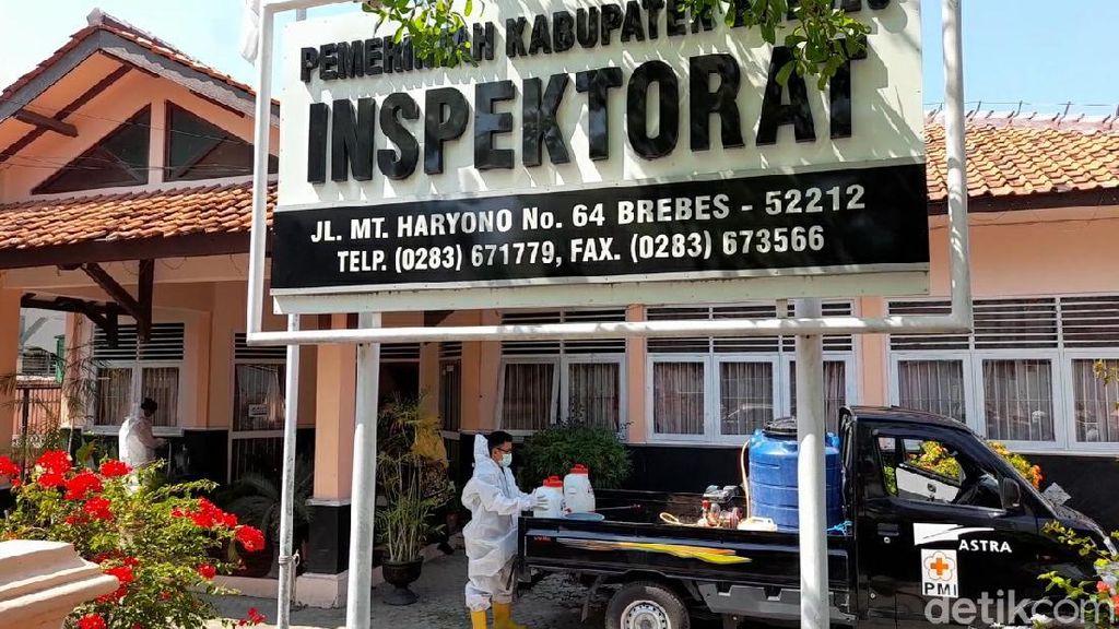 Kepala Inspektorat Brebes Kena Corona