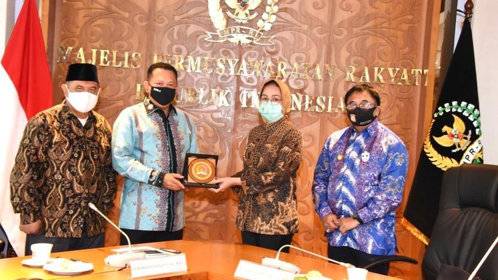 MPR Ajak Asosiasi Pemerintah Kota Gelar Sosialisasi Empat Pilar