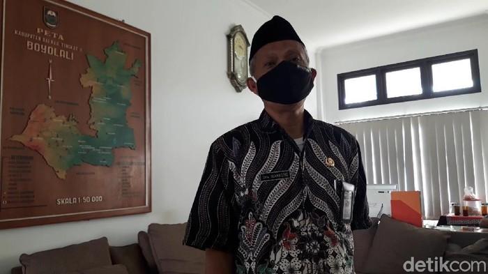 Ketua Satuan Tugas (Satgas) Penanganan COVID-19 Kabupaten Boyolali, Masruri, Selasa (15/9/2020).