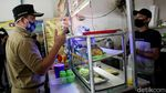 Langgar PSBB, Tempat Makan di Cakung Ditindak Petugas Gabungan