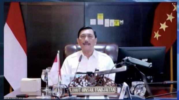 Luhut Binsar Pandjaitan. Dok: Tangkapan layar CNBC Indonesia TV