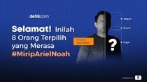 Ini Dia 8 Orang #MiripArielNoah yang akan Bertemu Personil NOAH