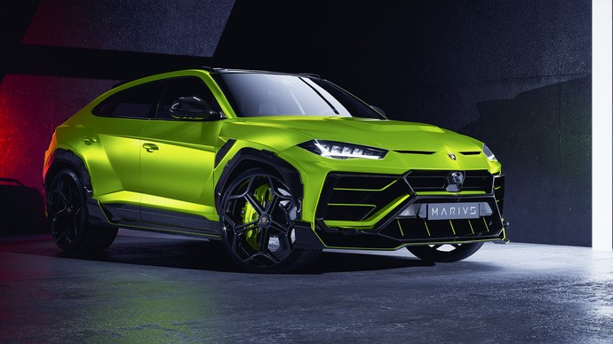 Modifikasi Lamborghini Urus MD1