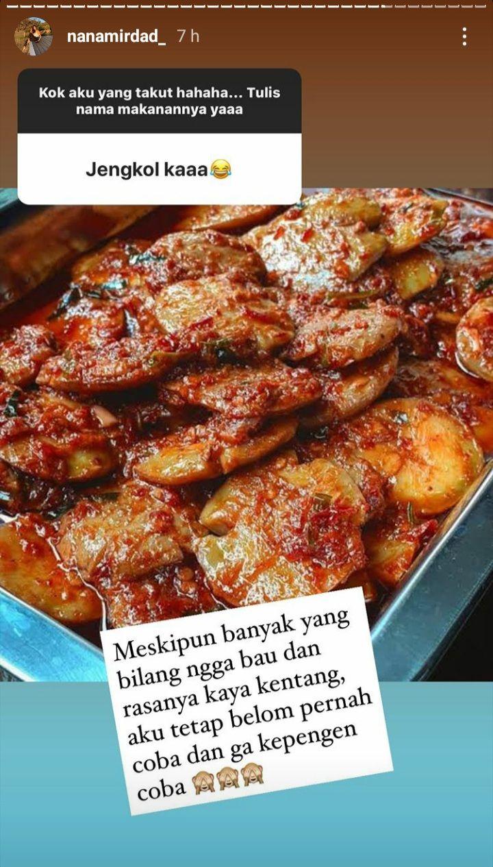 Nana Mirdad Tak Pernah Makan Lele Goreng