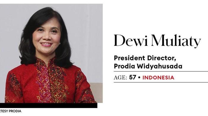 Presiden Direktur Prodia Widyahusada Dewi Muliaty